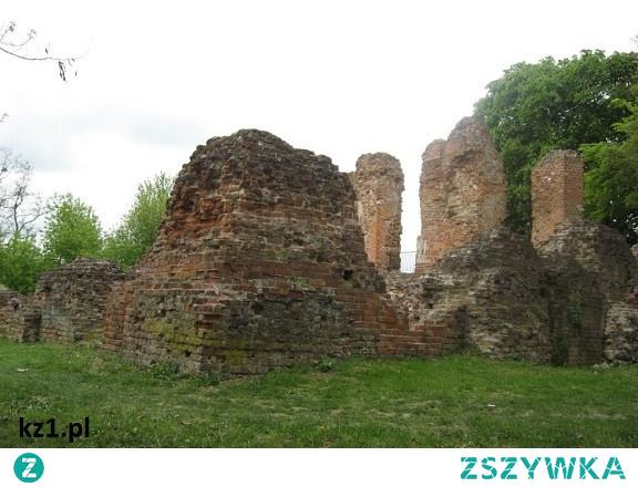 Ruiny zamku w Raciążku. Historia zamku.