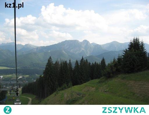 Gubałówka - jeden ze szczytów Tatr w Zakopanem.