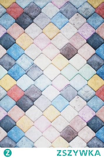 Antypoślizgowy dywan Simo wielokolorowy