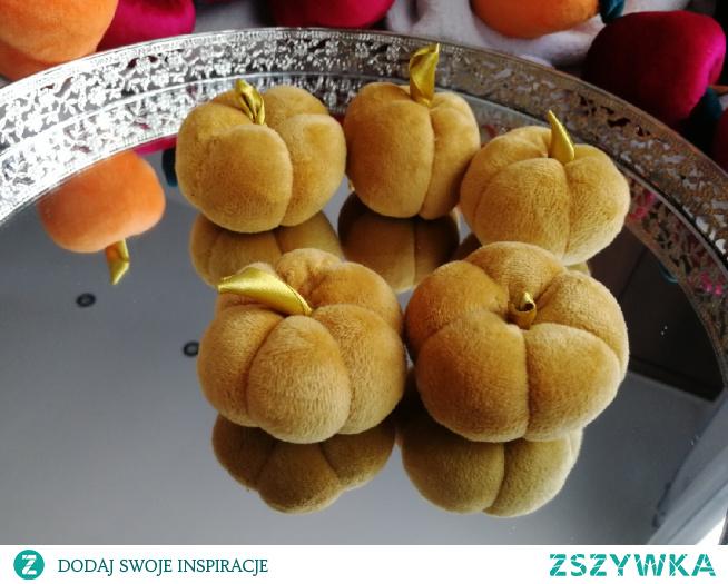 Dynie welurowe #jesień #handmade #ozdoby #pumpkin