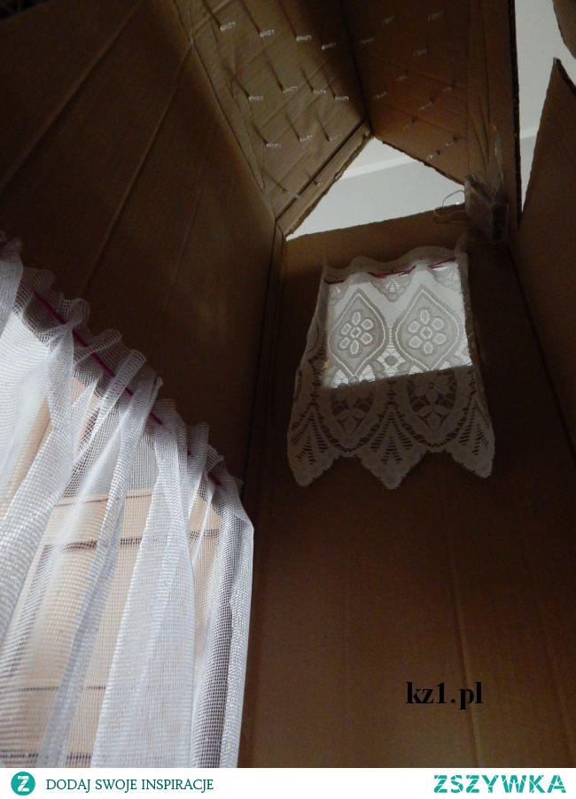 Jak zrobić domek z kartonu dla dzieci do zabawy.