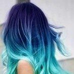 Okładka Kolorowe włosy :)