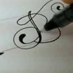 Okładka kaligrafia