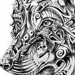 Okładka Mandala, doodle, sharpie, zentangle itp.