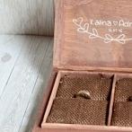 Okładka Pudełka na obrączki ślubne