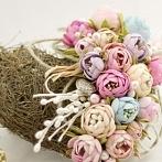 Okładka Foamiran - ręcznie robione kwiaty