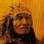 Okładka fotografia na drewnie
