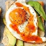 Okładka śniadania na słono
