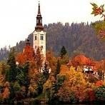 Okładka Jesienny wieczór