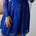 Okładka Granatowe sukienki
