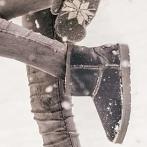 Okładka Ciepłe zimowe buty