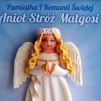Okładka Pamiątki I Komunii Św. - anioły średnie