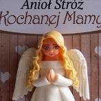 Okładka Dzień Mamy - Anioł Stróż w ramce