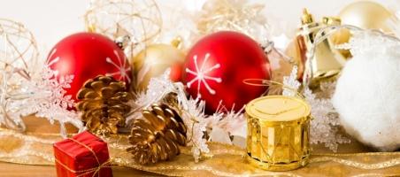 Okładka ozdoby świąteczne